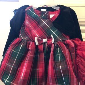 Infant 0-3 Holiday dress